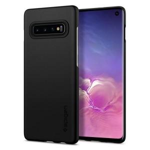 Spigen Thin Fit Hülle Samsung Galaxy S10 schwarz