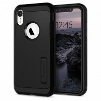 Spigen Tough Armor Hülle iPhone Xr black mit Kickstand