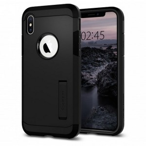 Spigen Tough Armor Hülle iPhone Xs / X schwarz