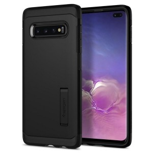 Spigen Tough Armor Hülle Samsung Galaxy S10 Plus schwarz