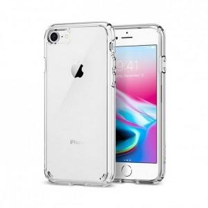 Spigen Ultra Hybrid 2 Hülle iPhone SE 2020 / iPhone 8 / 7 Transparent