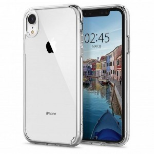Spigen Ultra Hybrid Hülle iPhone Xr crystal clear