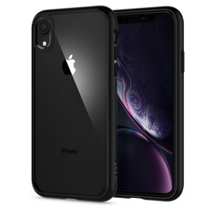 Spigen Ultra Hybrid Hülle iPhone Xr matt black
