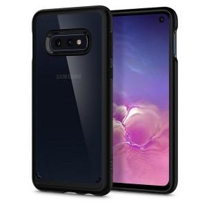 Spigen Ultra Hybrid Hülle Samsung Galaxy S10e schwarz matt