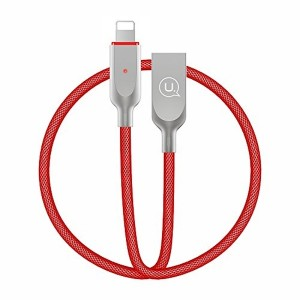 USAMS Kabel Power-Off U-Sun Lightning Rot 1,9m IPYSUSB203 US-SJ170