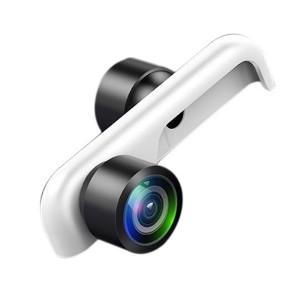 USAMS Dual Panoramaobjektiv 360 ° iPhone Xs / X weiß ZB44JT01 US-ZB044