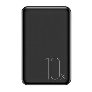USAMS Powerbank Mini PB10 10000 mAh 2.1A Schnellladegerät schwarz 10KCD7001 (US-CD70)