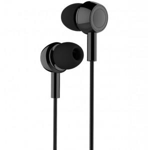 USAMS Stereo Kopfhörer EP-12 schwarz HSEP1201 3.5mm