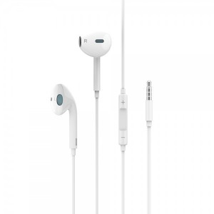 USAMS Stereo Kopfhörer EP-22 weiss HSEP2201 Klinke 3,5mm