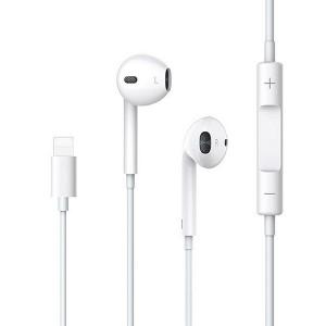 USAMS Stereo Kopfhörer EP-24 lightning iPhone weiß HSEP2401