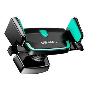 USAMS Universal Smartphone Lüftungsgitter Halterung 4-6 Zoll Schwarz / Grün