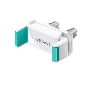USAMS Universal Smartphone Lüftungsgitter Halterung 4-6 Zoll Weiß / Grün