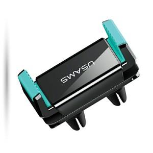 Lüftergitterhalter Air Vent Dual Clip schwarz / grün