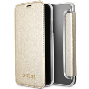 Guess Iridescent Tasche GUFLBKPXIGLTGO iPhone X / Xs Gold