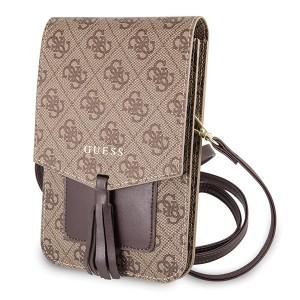 Guess 4G Universal Tasche mit Schultergurt GUWBSQGBE Braun