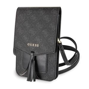 Guess 4G Universal Tasche mit Schultergurt GUWBSQGBK Schwarz