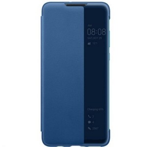 Original Huawei Smart View Flip Cover P30 Lite Blau
