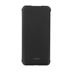Original Huawei Wallet Cover P Smart 2019 Schwarz