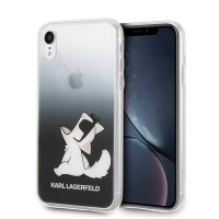Karl Lagerfeld Choupette Fun Hülle KLHCI61CFNRCBK iPhone Xr
