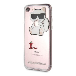 Karl Lagerfeld Choupette Fun Hülle KLHCI8CFA iPhone 8 / 7 transparent