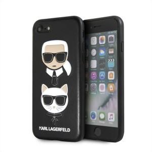 Karl Lagerfeld Karl & Choupette Hülle KLHCI8KICKC iPhone 8 / 7 Schwarz