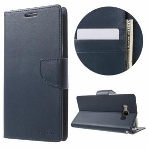 Mercury Bravo Handytasche Samsung Galaxy Note 10+ Blau