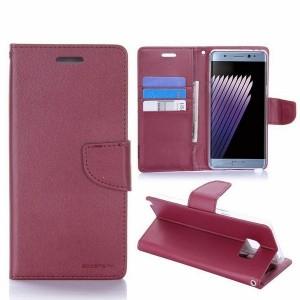 Mercury Bravo Handytasche Samsung Galaxy Note 10+ Wein