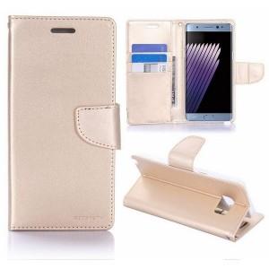 Mercury Bravo Handytasche Samsung Galaxy Note 10+ Gold