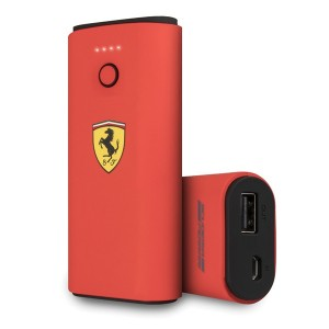 Ferrari Powerbank FESPBAS50RE 5000 mAh Rot