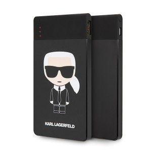 Karl Lagerfeld Iconic Powerbank KLPB4KFKIKBK 4000 mAh schwarz