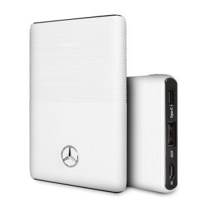 Mercedes Powerbank MEPB5KAESWH 5000 mAh weiß