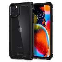 Spigen Gauntlet Hülle iPhone 11 Pro Carbon Schwarz