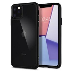 Spigen Ultra Hybrid iPhone 11 Pro Max Schwarz