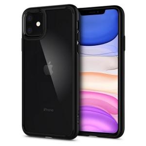 Spigen Ultra Hybrid Hülle iPhone 11 Schwarz
