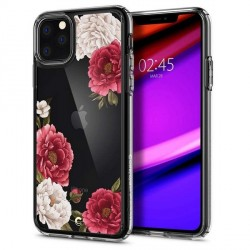 Spigen Schutzhülle Ciel iPhone 11 Pro Max Rot Blumen