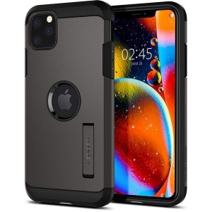 Spigen Tough Armor Hülle iPhone 11 Pro Gun Metal mit Kickstand