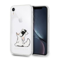 Karl Lagerfeld Choupette Fun Hülle KLHCI61CFNRC iPhone Xr Transparent