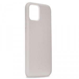Puro ICON Hülle Silikon iPhone 11 Innenseite Mikrofaser Grau
