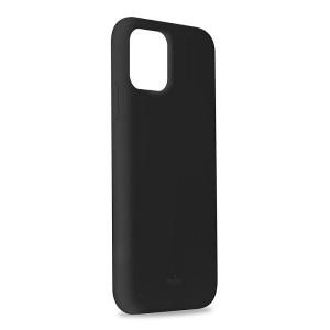 Puro ICON Hülle Silikon iPhone 11 Pro Max Innenseite Mikrofaser Schwarz