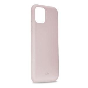 Puro ICON Hülle Silikon iPhone 11 Pro Max Innenseite Mikrofaser Rose