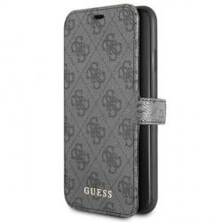 Guess Tasche 4G Kollektion GUFLBKSN654GG iPhone 11 Pro Max Grau
