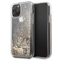 Guess Hülle Glitter Hearts Kollektion GUHCN58GLHFLGO iPhone 11 Pro Gold