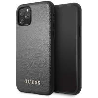 Guess Hülle Iridescent Kollektion GUHCN65IGLBK iPhone 11 Pro Max Schwarz