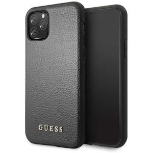 Guess Hülle Iridescent Kollektion iPhone 11 Pro Max Schwarz GUHCN65IGLBK