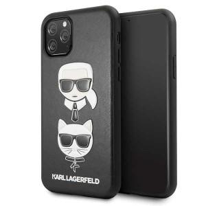 Karl Lagerfeld Hülle Karl & Choupette KLHCN58KICKC iPhone 11 Pro Schwarz