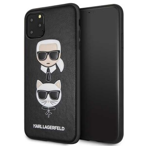Karl Lagerfeld Hülle Karl & Choupette KLHCN65KICKC iPhone 11 Pro Max Schwarz