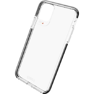 Gear4 D3O Piccadilly iPhone 11 Pro Max Hülle Transparent / Schwarz