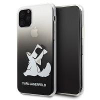 Karl Lagerfeld Choupette Fun Hülle KLHCN58CFNRCBK iPhone 11 Pro schwarz