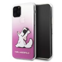 Karl Lagerfeld Choupette Fun Hülle KLHCN58CFNRCPI iPhone 11 Pro pink