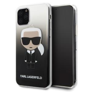 Karl Lagerfeld Gradient Ikonik Karl KLHCN58TRDFKBK iPhone 11 Pro Schwarz